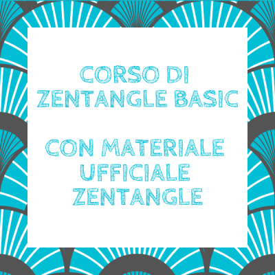 Corso di Zentangle Basic (con materiale ufficiale Zentangle)