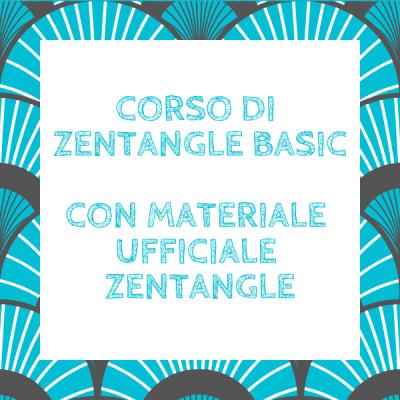 Corso di Zentangle Basic (con materiale ufficiale Zentangle)