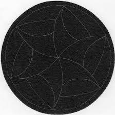 Tesserine ufficiali Zentangle con logo per realizzare ZENDALA prestringati in cartoncino nero