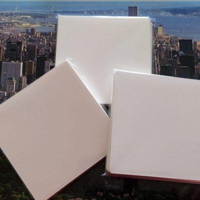 5 Tesserine carta ufficiale Fabriano Tiepolo ma SENZA LOGO cm. 8,9 x 8,9